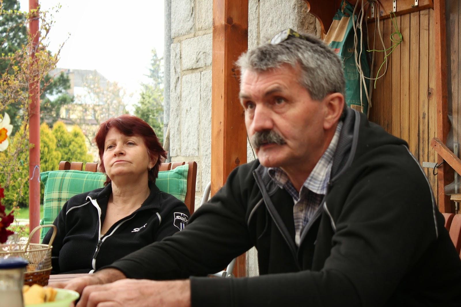 pan Mastný s ženou