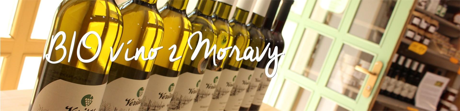 BIO vína z Moravy